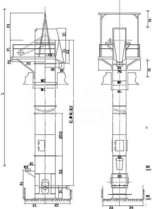 NE板链提升机