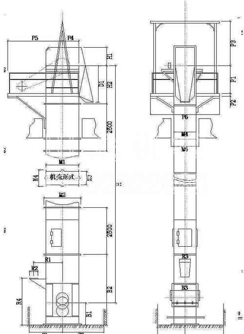 NSE提升机图纸